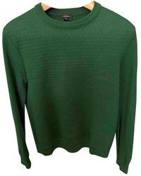 Jil Sander Green Wool Knitwear & Sweatshirts