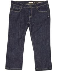 Burberry - Short Jeans - Lyst