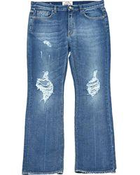 Acne Studios Jeans in cotone blu