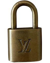 Louis Vuitton Marroquinería dorado - Multicolor