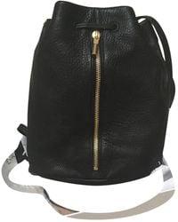 Elizabeth and James Leather Backpack - Black