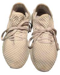 adidas Deerupt Runner Cloth Trainers - Grey
