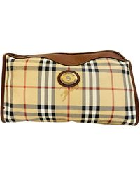 Burberry Leather Vanity Case - Multicolor