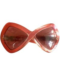 Nina Ricci Multicolor Plastic Sunglasses