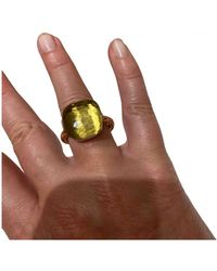 Pomellato Nudo Pink Gold Ring - Yellow