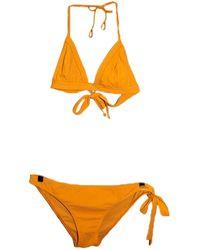 Chloé Orange Synthetic Swimwear