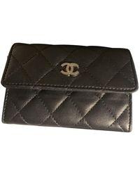 Chanel Piccola pelletteria in pelle nero