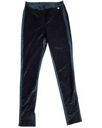 Chanel Velvet Pants - Black