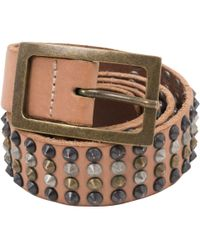 Zadig & Voltaire - Brown Leather Belts - Lyst