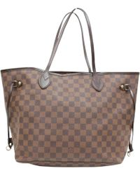 Louis Vuitton - Pre-owned Neverfull Cloth Tote - Lyst