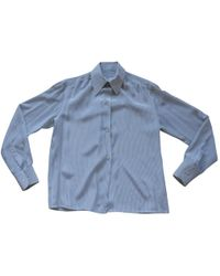 Dior - Pre-owned Silk Blouse - Lyst