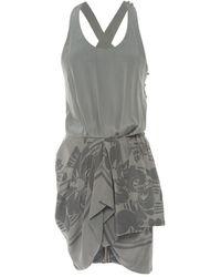 Richard Nicoll Green Silk Dress