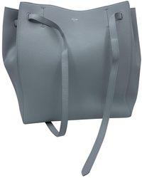 Celine Cabas Phantom Leder Handtaschen - Mehrfarbig