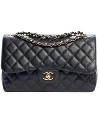Chanel Timeless/Classique Leder Handtaschen - Mehrfarbig