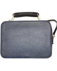 Marc Jacobs The Box Bag Leather Bag - Blue