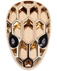 BVLGARI - Gold Metal Bracelet - Lyst