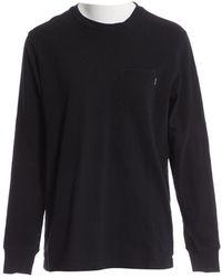 Supreme Black Cotton T-shirt