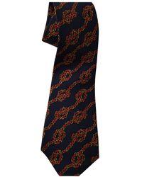 Chanel Silk Tie - Blue