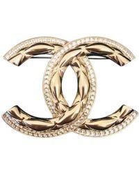 Chanel CC Broschen - Schwarz