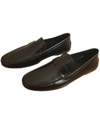Louis Vuitton Mocasines de Cuero - Negro