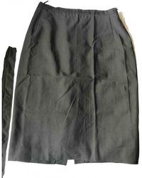 Burberry Mid-length Skirt - Black