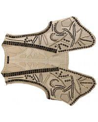 Balmain Leather Knitwear - Multicolour