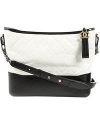 Chanel - Gabrielle Leather Bag - Lyst