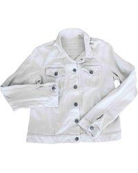 Helmut Lang Vintage White Denim - Jeans Jacket