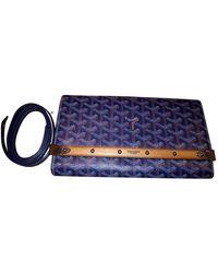 Goyard Cloth Clutch Bag - Blue