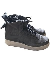 Nike Sf Air Force 1 High Sneakers - Gray
