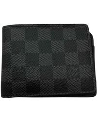 Louis Vuitton Anthracite Cloth Small Bag Wallets & Cases - Gray