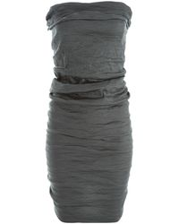 Lanvin - Blue Silk Dress - Lyst