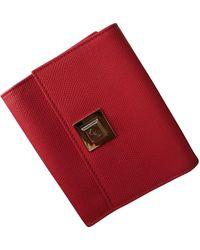 Dior Leder Portemonnaies - Pink
