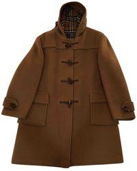 Burberry Wool Dufflecoat - Brown