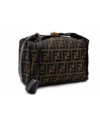 Fendi Brown Cloth Handbag