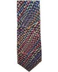 Missoni Seide Krawatten - Mehrfarbig