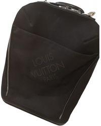 Louis Vuitton Pegase Leinen Reisetaschen - Schwarz