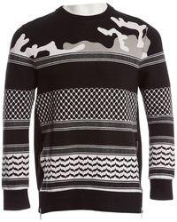 Neil Barrett - Black Viscose Knitwear & Sweatshirts - Lyst