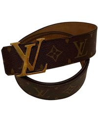 Louis Vuitton Ceintures en Toile Marron