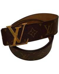 Louis Vuitton Brown Cloth Belts