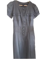 Marc By Marc Jacobs Cotton - Elasthane Dress - Gray