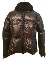 Roberto Cavalli Linen Trench Coat - Black