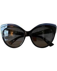 Dior Occhiali in plastica nero