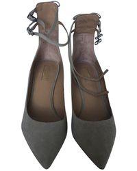 Aquazzura Heels - Natural