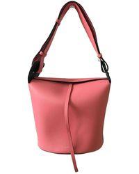Burberry The Bucket Leder Handtaschen - Mehrfarbig