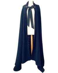 Chanel Wool Cape - Black