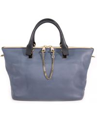 Chloé - Pre-owned Baylee Leather Handbag - Lyst