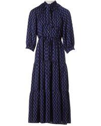 Cefinn Maxi Dress - Blue