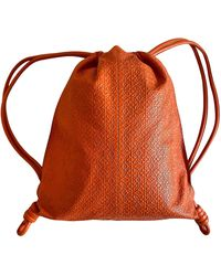 Loewe Leder Taschen - Orange