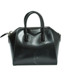 Givenchy Antigona Black Leather Handbag